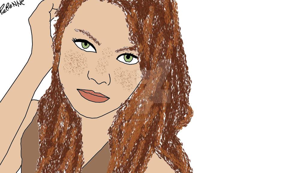 Emma Stone by pierennephart