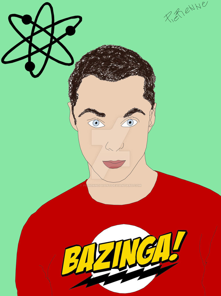 Sheldon Cooper by pierennephart