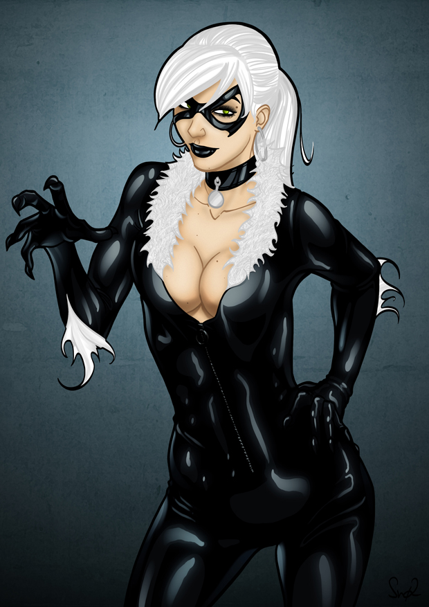 Black Cat by Sno2