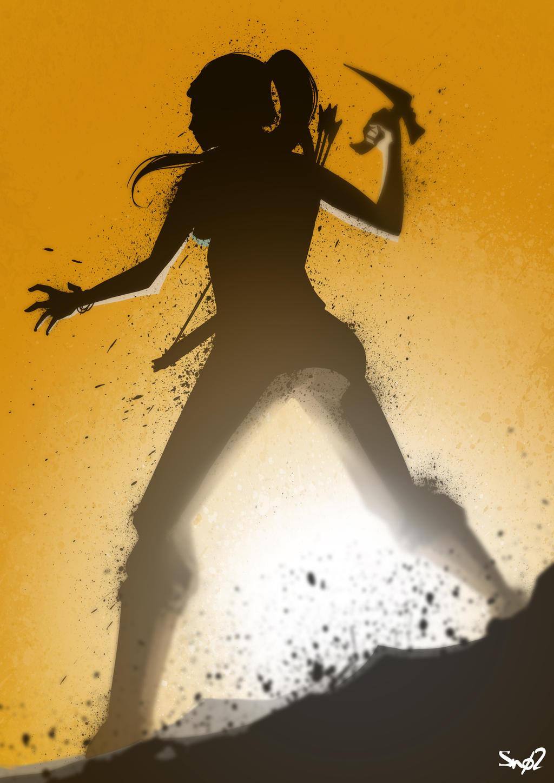 Lara Croft by Sno2