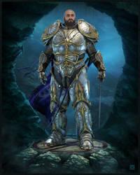 Knight of the 'Blades' by ErigoArt