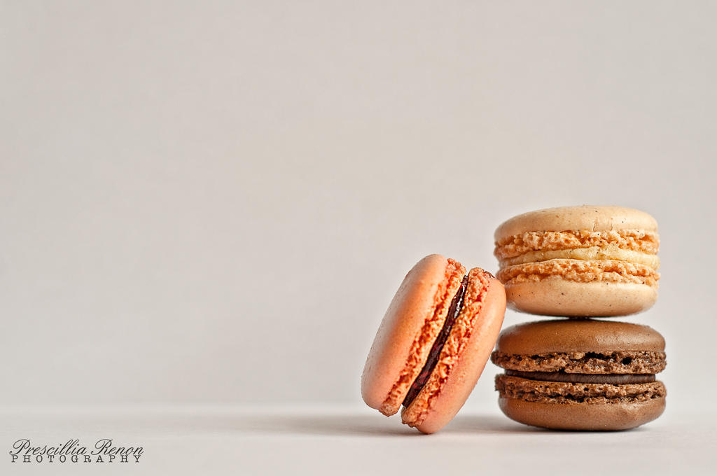 Les macarons, petits delices by iWhitedust