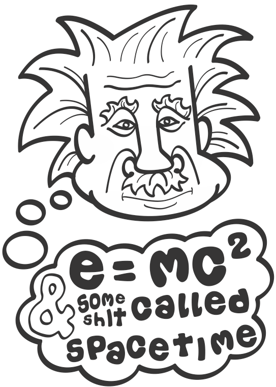 e(instein) mc2 by Zookaru