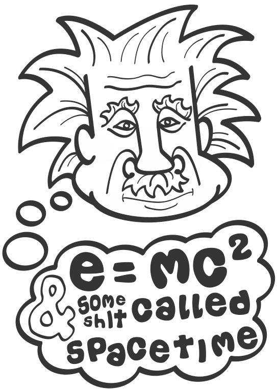e(instein) mc2 by Zookaru
