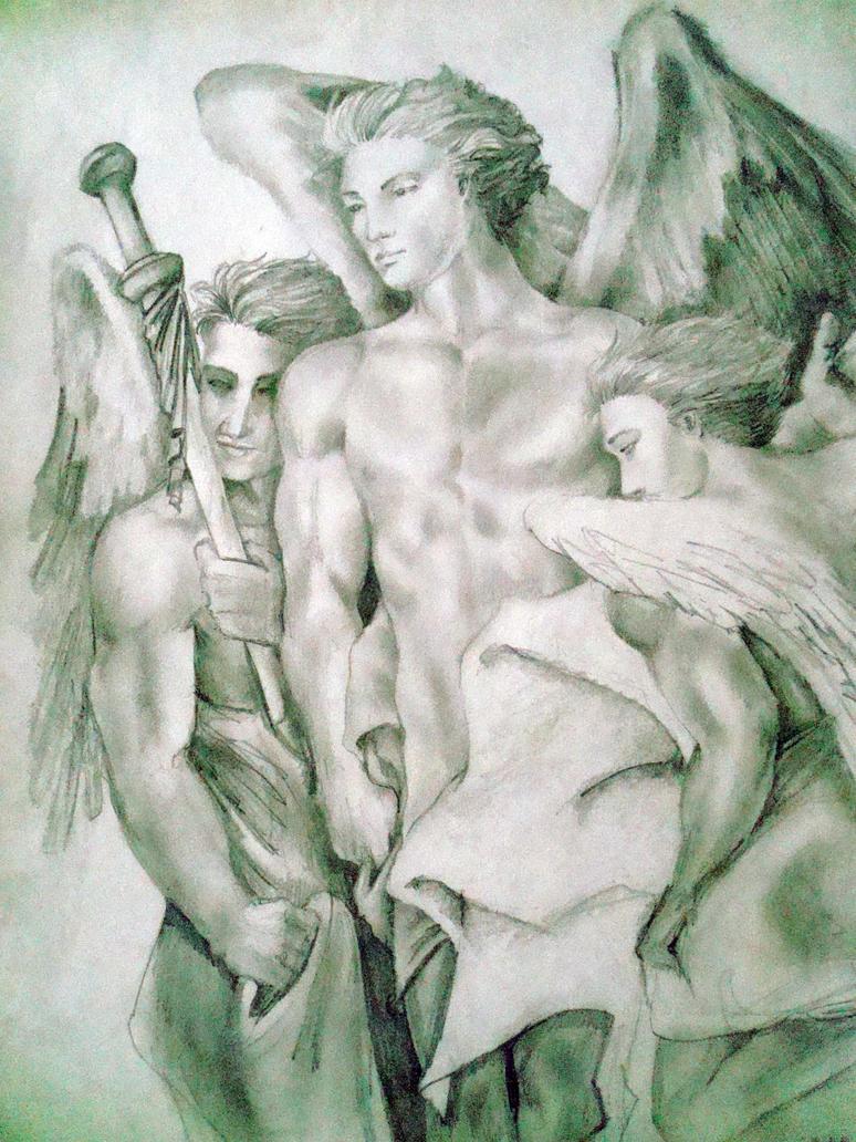Renaissance Angels By CFBear27