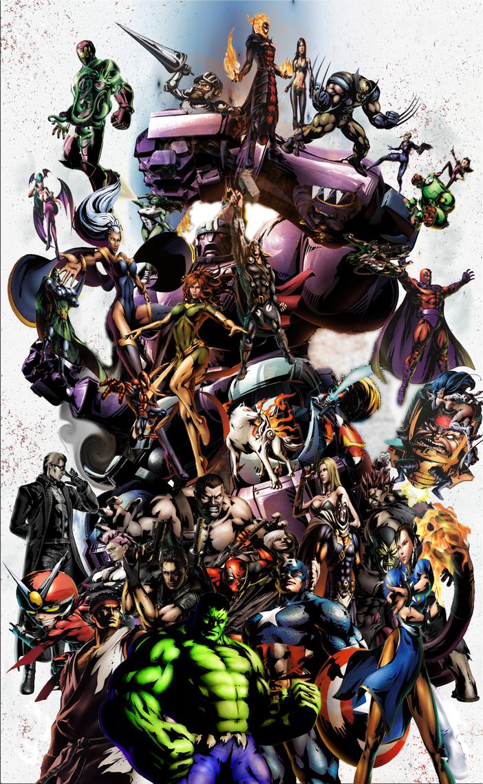Marvel vs capcom 3 by hollowx