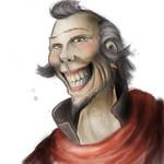 Pathfinder: Gharen Muricar by Redscript77