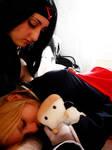 Sleep, my chibi, sleep... 01 by White-Assassin