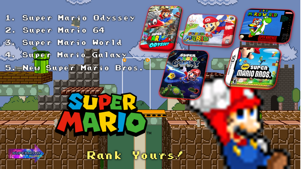 Top 5 Mario Games + NEW Mini-Series 'Rank Yours!' by NinStation64 on  DeviantArt