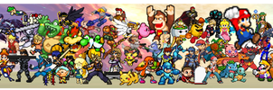 SSBU Pixelated !! by NinStation64