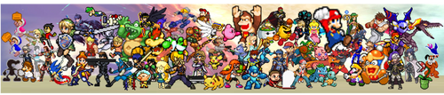 SSBU Pixelated !! by NinStation64