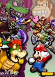 The Rivals - A Smash Bros Illustration