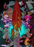 Aegis Blades - A Smash Bros Illustration by NinStation64