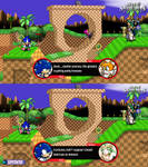 Sonic Codec with Palutena