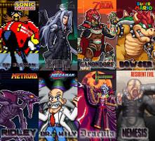 Favorite Gaming Villians