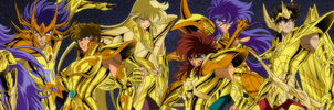 Gold Saints by IkkiSpartan