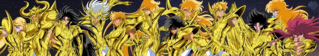 Gold Saints Manga by IkkiSpartan