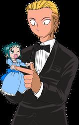 Midori and Seiji by IkkiSpartan