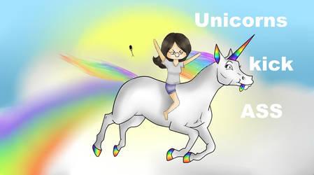 Unicorns. kick. ASS. by icrystalline