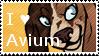 I heart Avium stamp by icrystalline