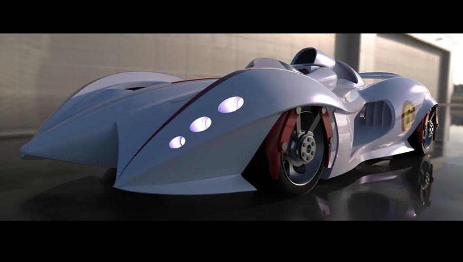 Mach 6 Speed Racer by Quessey on DeviantArt