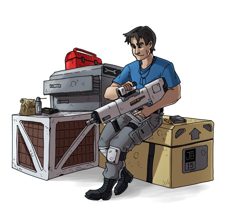 Guns & Crates by Dadrick