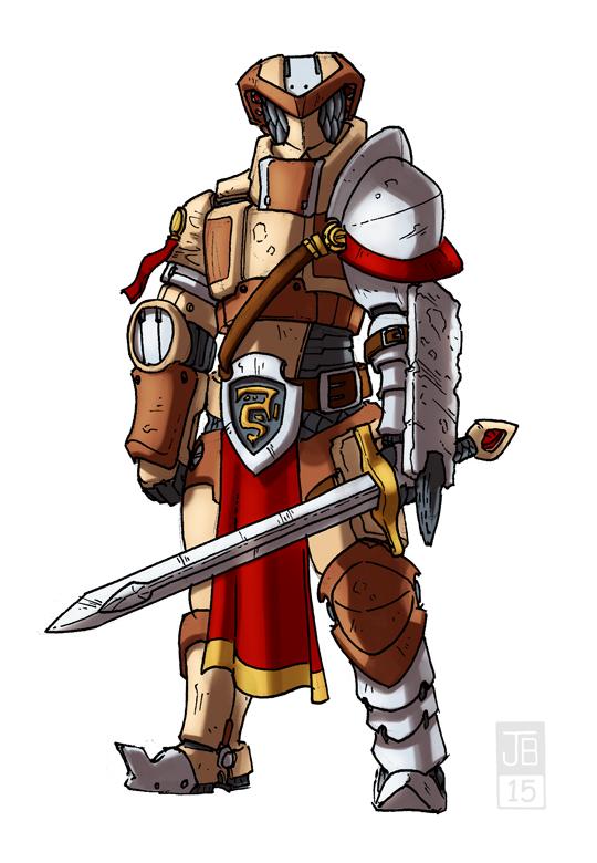 Techno Knight by Dadrick
