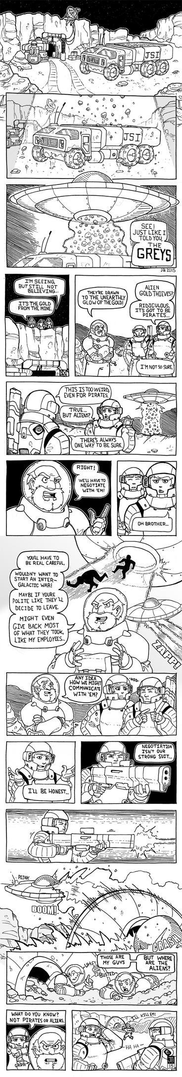 Crazy Joe's Aliens by Dadrick