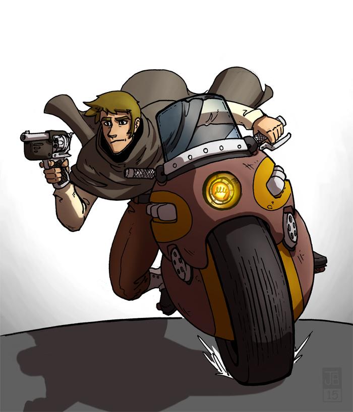 Monocycle Blitz by Dadrick