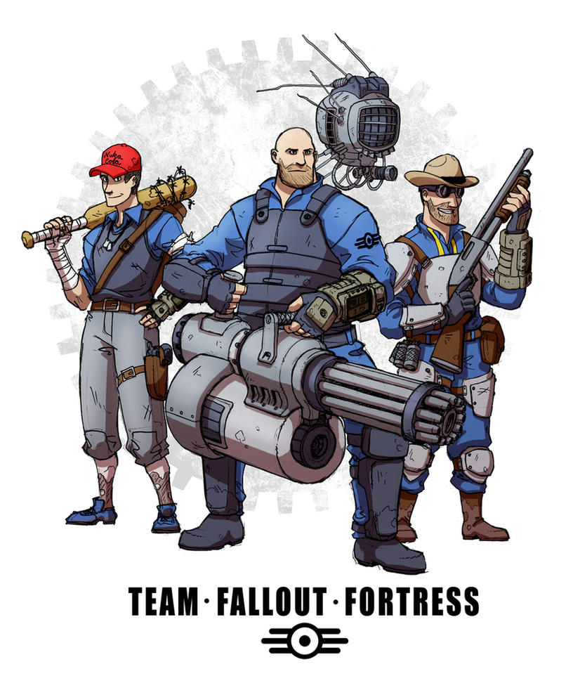 Team Fallout Fortress by Dadrick