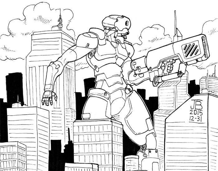 Giant Robo - Final 2015 by Dadrick