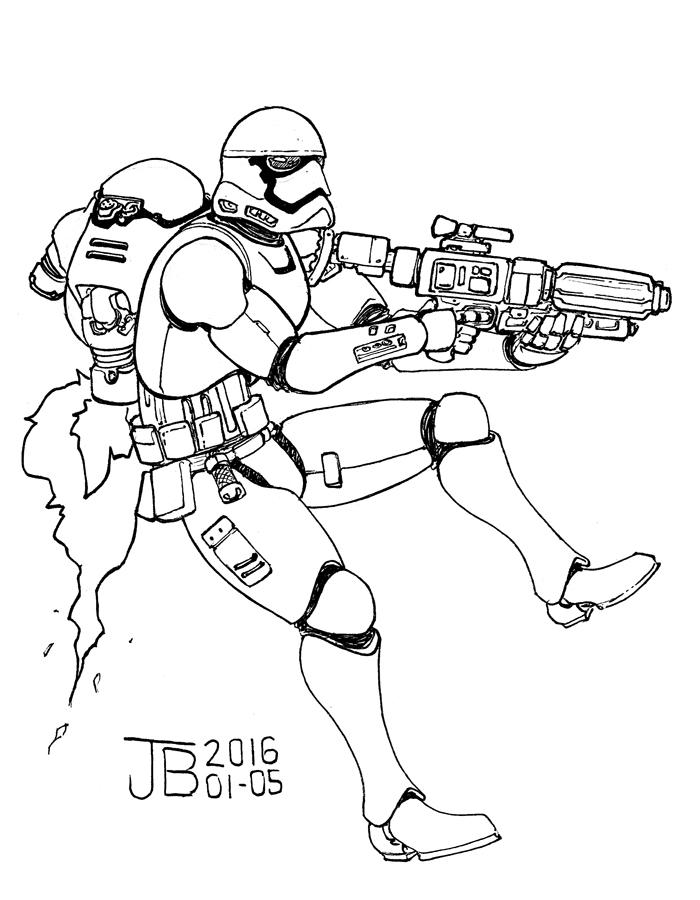 Stormtrooper by Dadrick