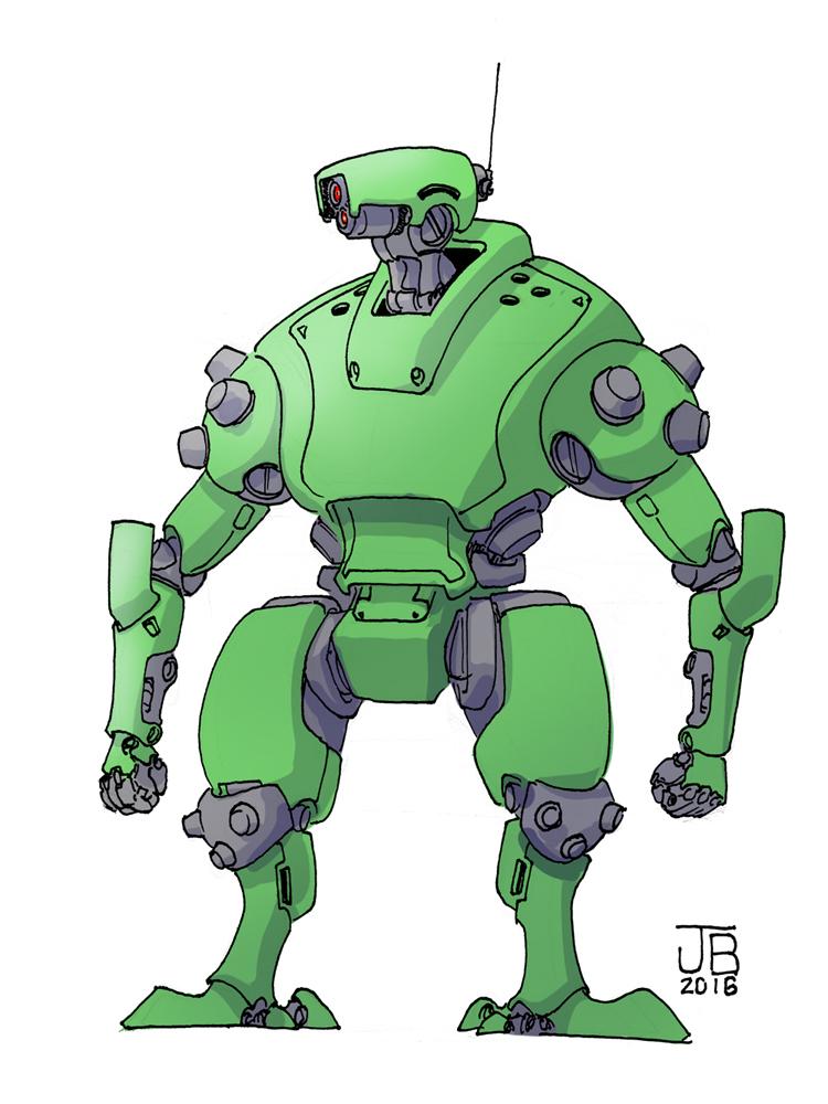 Gotta Have Robots by Dadrick