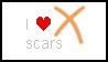 X-scar stamps by Akina-SA