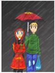 Rainy Day: Kiseki-winter by Akina-SA