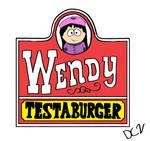 Wendy Testaburger (Wendy's Parody Logo)