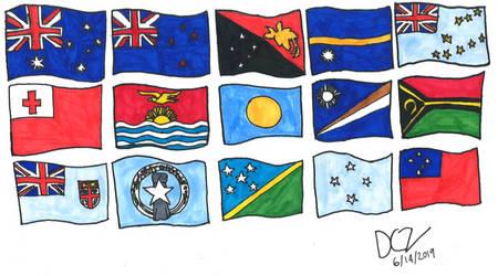 Flags of Oceana