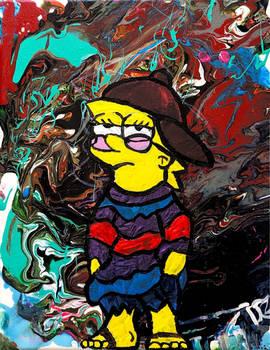 Cool Lisa Simpson