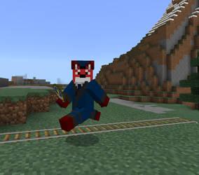RailFox in Minecraft