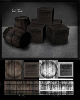 Barrel and Boxes