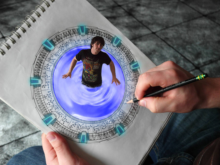 Stargate drawing comes to Life by Scipio164
