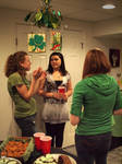 Mingling at the Party