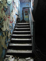 Decaying Stairs of Henryton by Scipio164