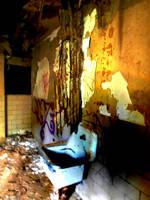 Decaying Bathroom by Scipio164