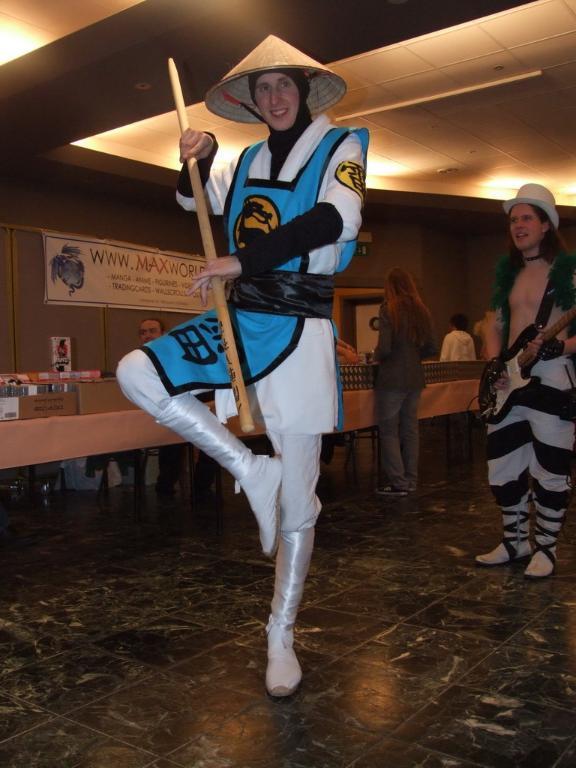Lord Raiden - Mortal Kombat by Hauptsturmfuhrer