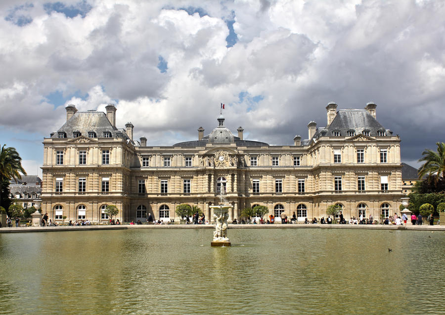 Luxembourg Palace, Paris by edwarddd89