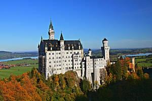 Neuswanstein castle, Germany by edwarddd89