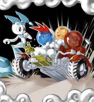 GO Lunar rover GO by odaleex