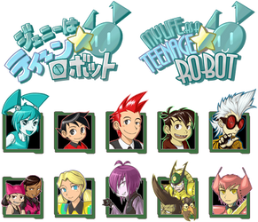 MLaaTR Logo and characters by odaleex