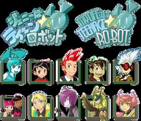 MLaaTR Logo and characters